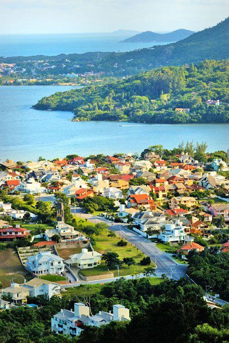 Florianopolis - Best View of the City  The top of the mountain of Lagoa da Conceição
