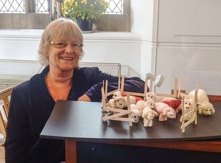 Knitting needles have been hard at work across Badshot Lea and Hale as the parish's first ever 'Knitivity' set takes shape ready for Advent. Mary and Joseph, kings, shepherds and a multitude of she...