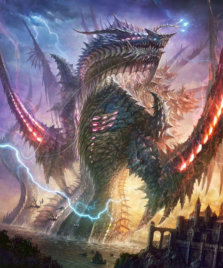 Драконы огромные картинки