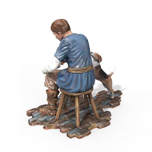 This figurine craftsmen.