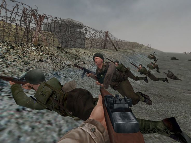 Medal of Honor Allied Assault PC Game Screenshots