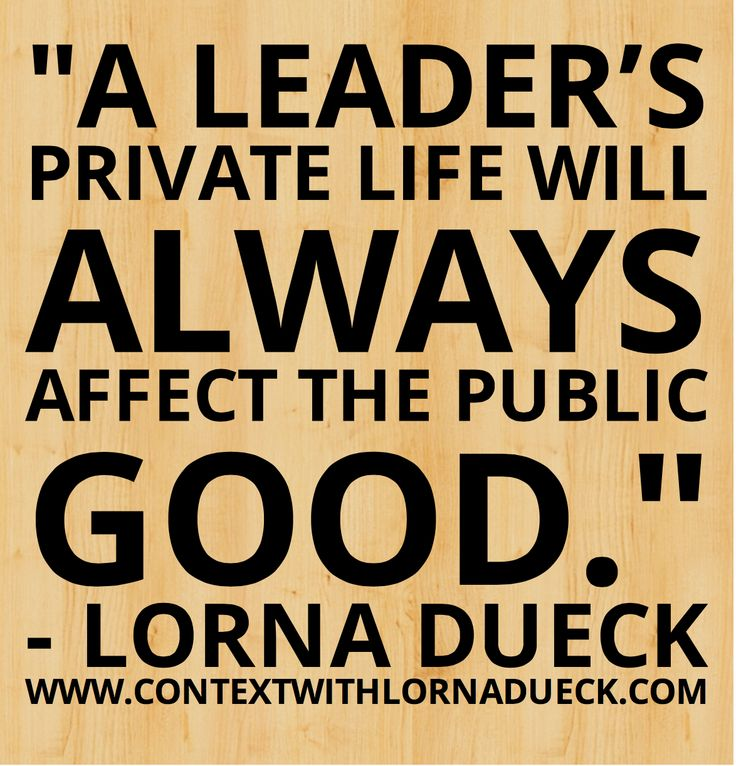 Read more in Lorna's latest blog entry: http://www.lornadueck.com/blog/rob-fords-best-days #Pinwords #MayorFord #leadership
