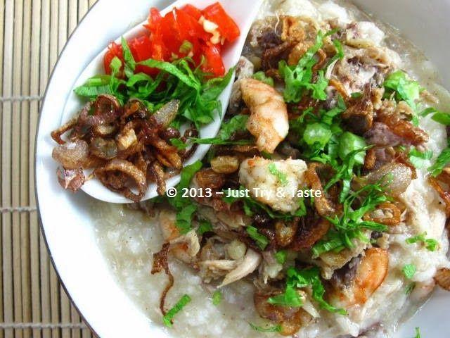 Just Try & Taste: Resep Pembaca JTT: Kanji Rumbi - Bubur Ayam Khas Aceh
