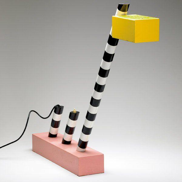 MICHELE DE LUCCHI / MEMPHIS Oceanic Table Lamp