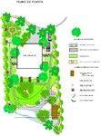 Diseños exteriores o interiores Planta jardin 3D Nueva Andalucia