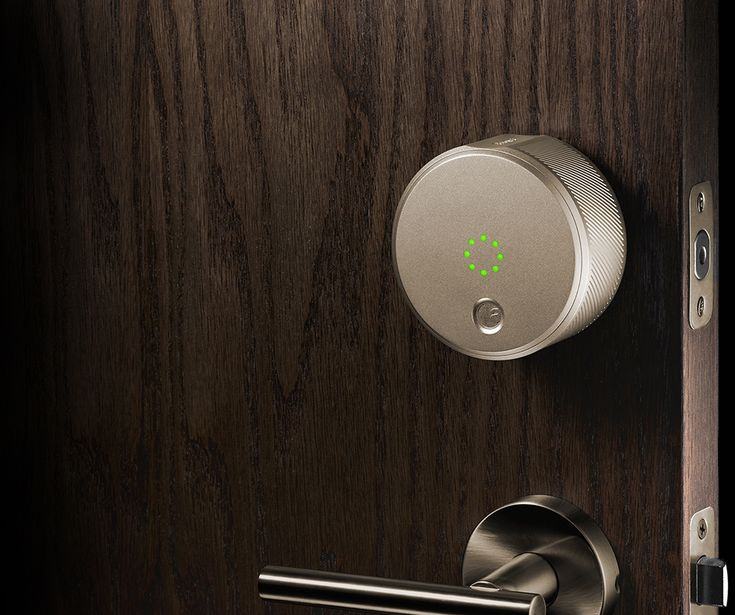 The August Smart Lock is a new lock and access system that allows you to send a virtual key to anyone you choose, for as long as you choose, to have access to your home. #Smart_Lock #Safety #Home_Security