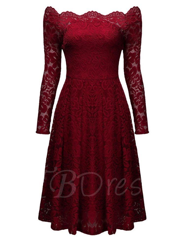 best 25 burgundy dress ideas on pinterest long formal. Black Bedroom Furniture Sets. Home Design Ideas