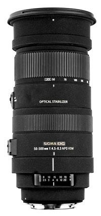 Lens Test: Sigma 50-500mm F/4.5-6.3 APO DG OS HSM | Popular Photography