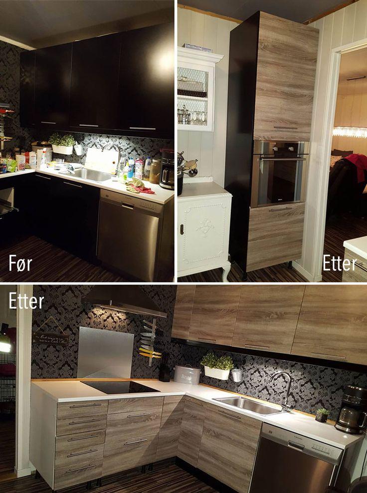 DIY: Hvordan montere kontaktplast på kjøkkenskap ✨ Se guide, tips og monteringsvideo her