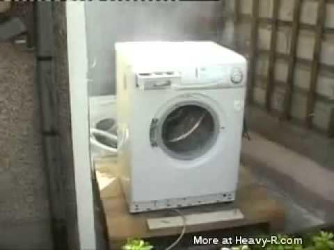 #엽기 웃긴동영상#세탁기에 돌을 넣으면Stone Wash 따라하지마세요