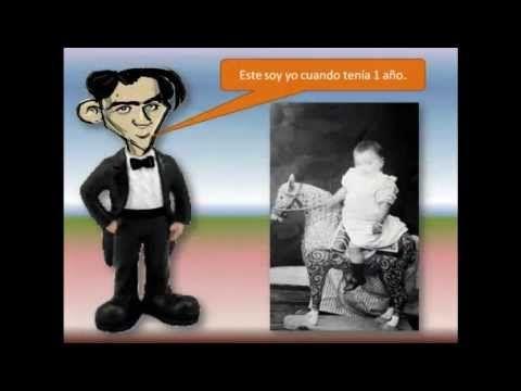 Presentación para niños de la vida de Federico García Lorca a través de sus fotos