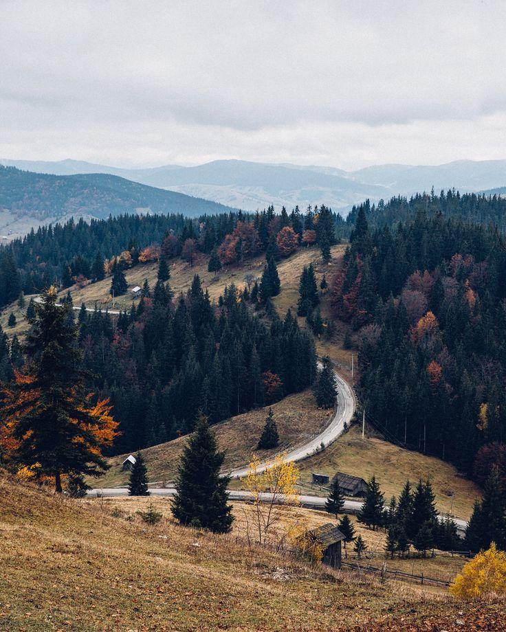 An Autumn Journey through the Carpathian Mountains.