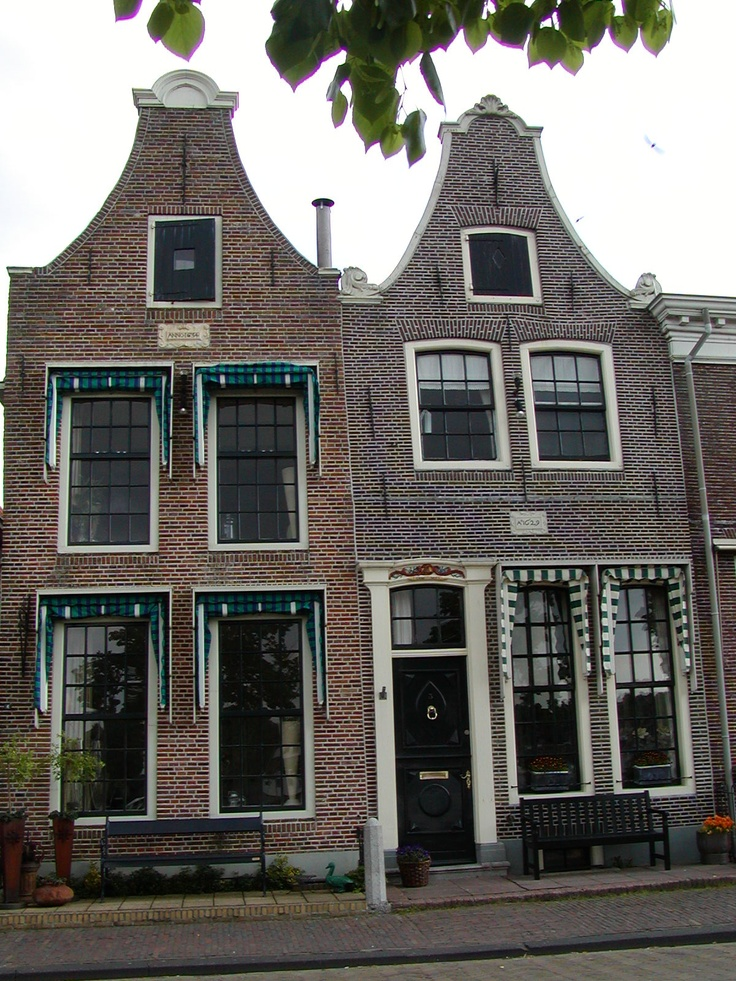 Doors and windows - just beautiful! Traditional Dutch houses, Blokzijl, Netherlands photo by jadoretotravel