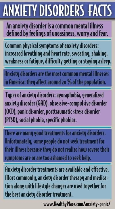 #anxiety #facts