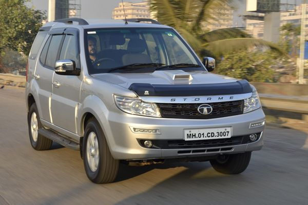 The Tata Safari gets a new top trim which sees the addition of an uprated version of the 2.2-litre motor and a new, six-speed manual 'box.