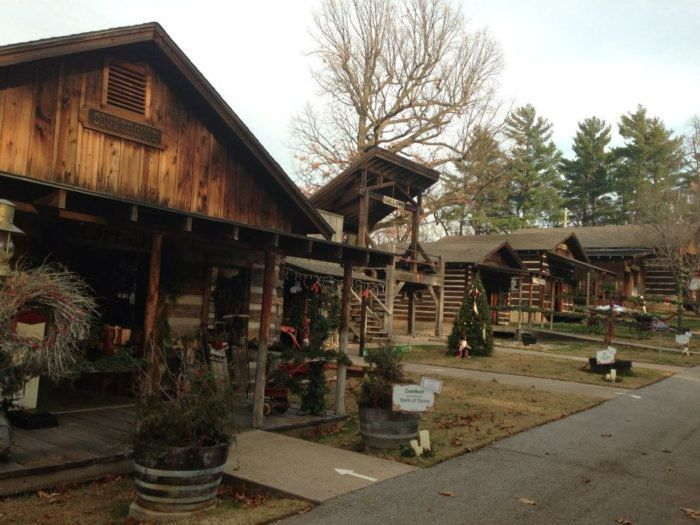 The Charming Christmas Village In Oklahoma You Ll Want To Visit This Season Christmas Villages Christmas Village Village