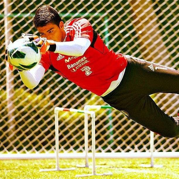 Richard Sánchez, portero la Sub20  #seleccionmexicana #mexico #futbol #soccer #sports