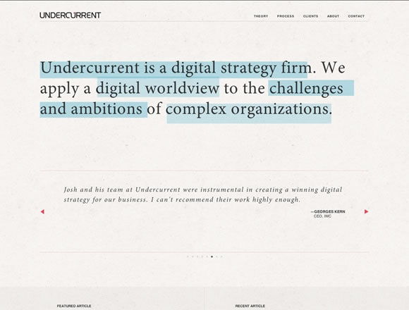 21 Examples of Fixed Position Menus in Web Design