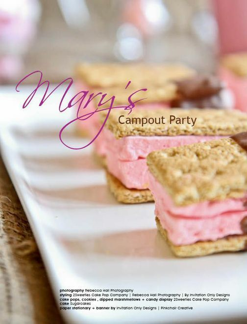 Camp Out Party | Photography by Rebecca Hall http://rebeccahallphotography.com/ | #party #kids #cake #styling