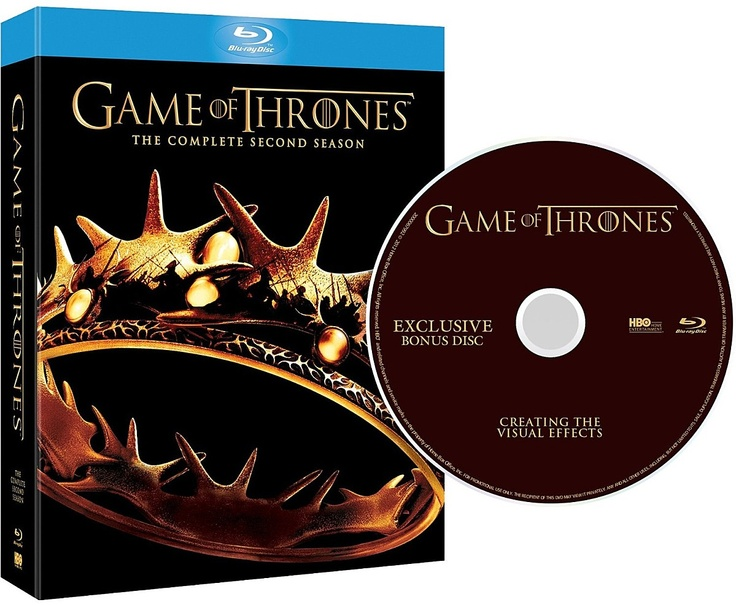 Game of thrones (le trone de fer) saison 2 en blu-ray édition limitée