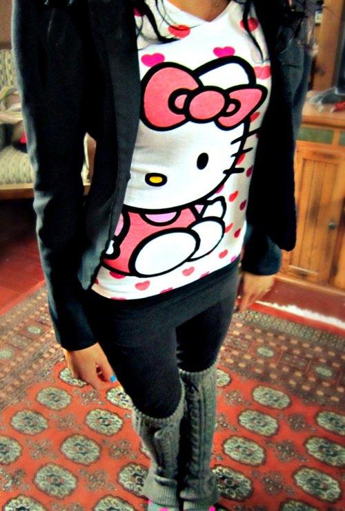 Hello Kitty Shirt. This reminds me of you Kylee!