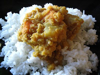 Indian-Style Red Lentil and Sweet Potato Curry