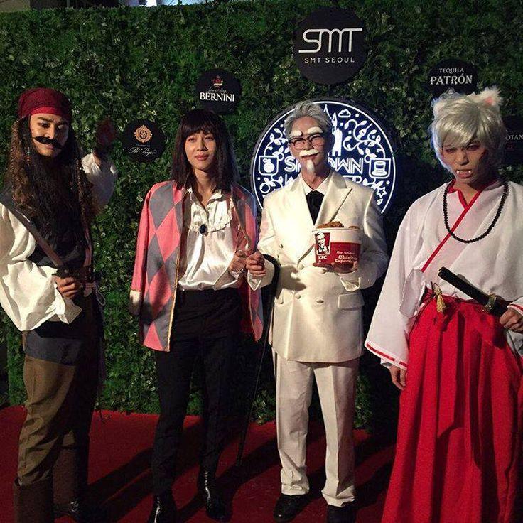 Piraci z karaibów->Jack Sparrow Ruchomy zamek Hauru -> hauru kfc InuYasha->InuYasha