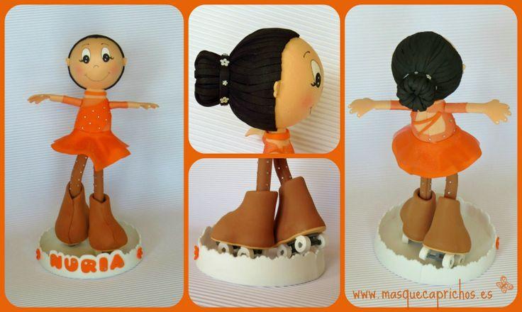 Nuria, la princesa del Patinaje Artístico  #fofuchapersonalizada #fofuyo