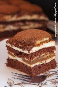 Pyszne ciasto stosunkowo szybkie i niekłopotliwe w przygotowaniu. Zadowoli smakoszy kawy i amatorów tiramisu ;) Jest bowiem troszkę w po...
