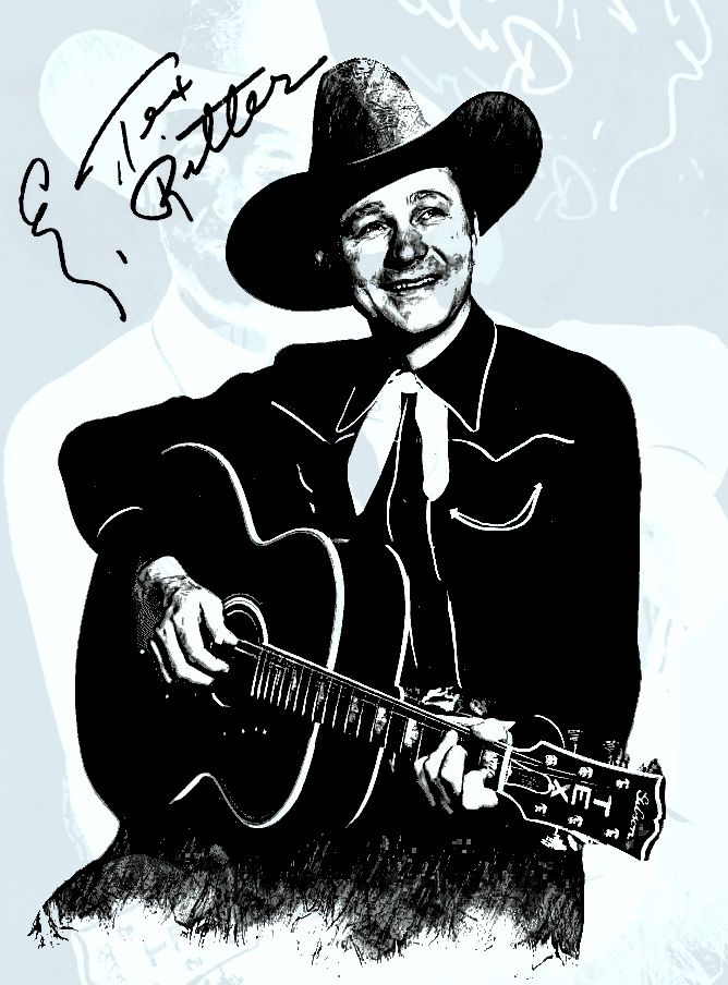Tex Ritter was an American country music singer and movie actor popular from the mid-1930s into the 1960s, and the patriarch of the Ritter family in acting. He is a member of the Country Music Hall of Fame