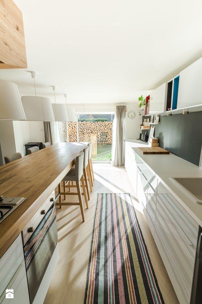Kuchnia w garażu - Jaworzno - stan obecny - zdjęcie od Twindesign Jaworzno - Kuchnia - Styl Nowoczesny - Twindesign Jaworzno