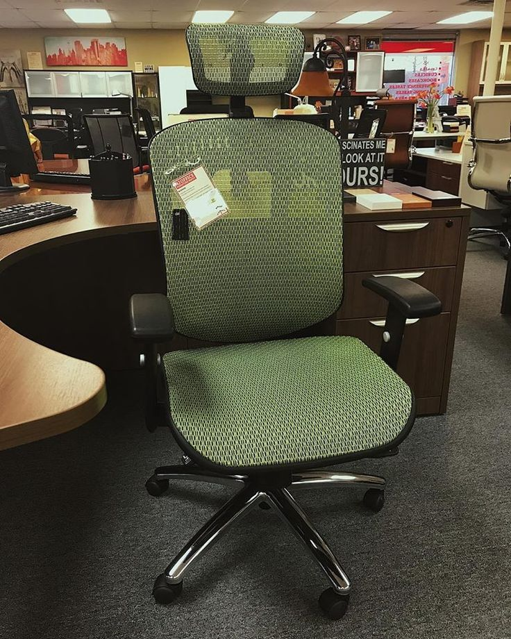 This Attractive Office Chair Features Top Notch Functionality: ▫️It Has An  Extra Contoured Waterfall Seat Front With A Passively Supporting Lumbar  Curve ...