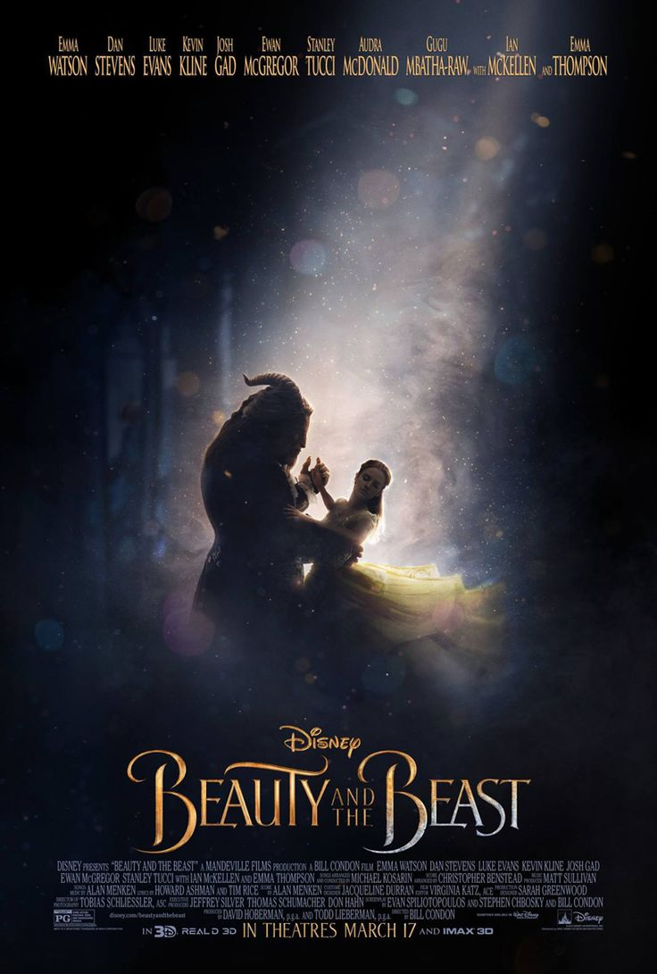 Official Beauty and the Beast Poster