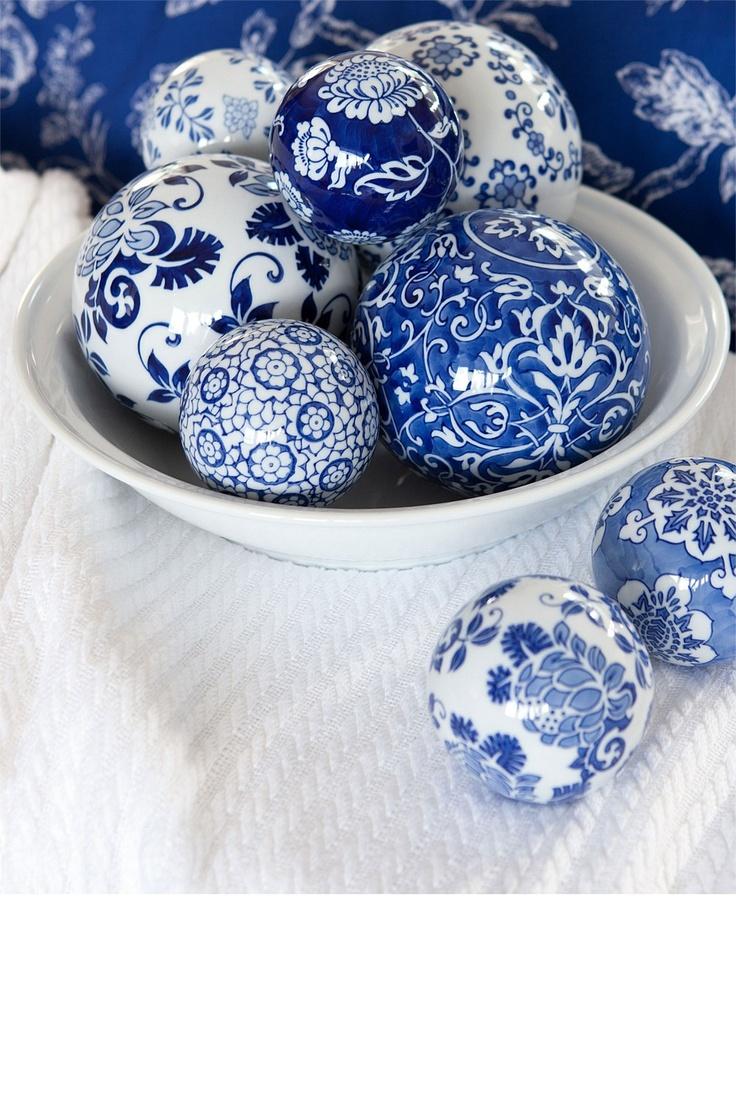 Decorative Balls Australia 87 Best Blue And White Vases Images On Pinterest  Blue Toms Blue
