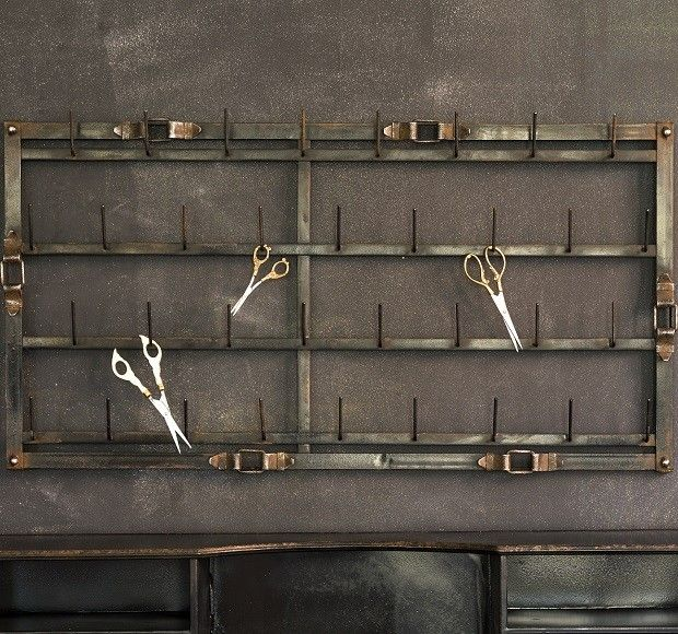 Wall Rack With Hooks Antique