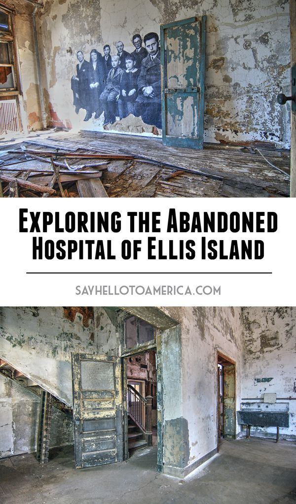 Photos of the abandoned hospital on Ellis Island, which has opened to the public for tours for the first time in 60 years. Click for more photos or save for later!