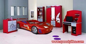Hızlı Arabalı Genç Odası - speedylifes.com