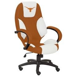 University of Texas Longhorns UT Executive Leather Office Chair