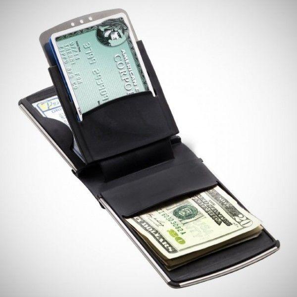 Zippo Stainless Steel Wallet %u2013 $37