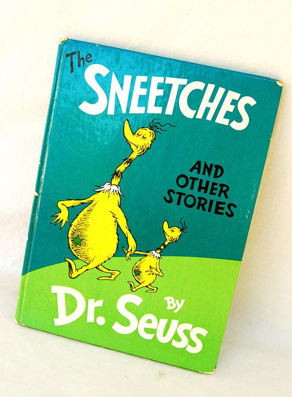 Vintage 1961 The Sneetches & Other Stories by Dr Seuss