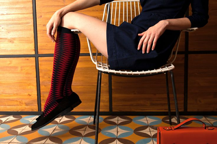 Czech socks designs - Iva Neumanova for socksinbox.cz