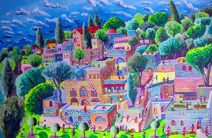 naive art naife paintings folk painter native painting gallery primitive artworks by raphael perez