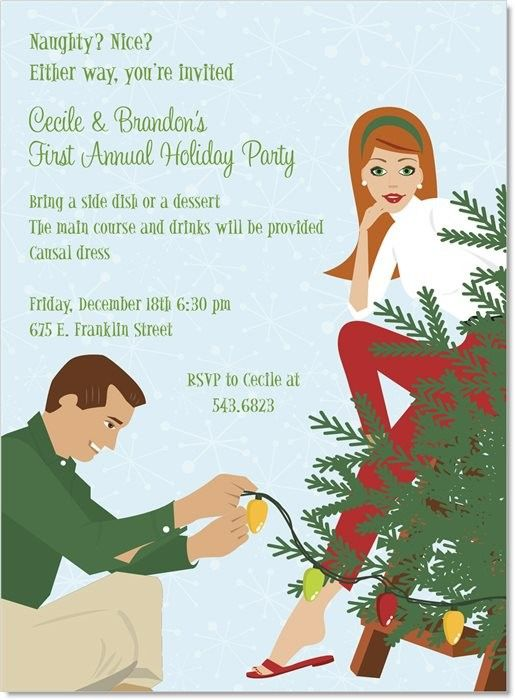 61 best Tree Trimming Holiday Party images – Tree Trimming Party Invitation