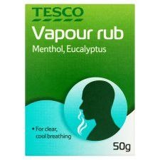 Tesco Adult Vapour Rub 50G
