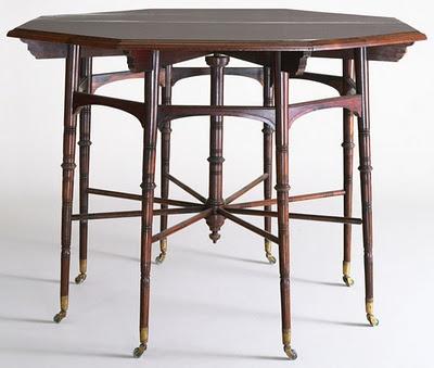 AMAZING Edward William Godwin designed table