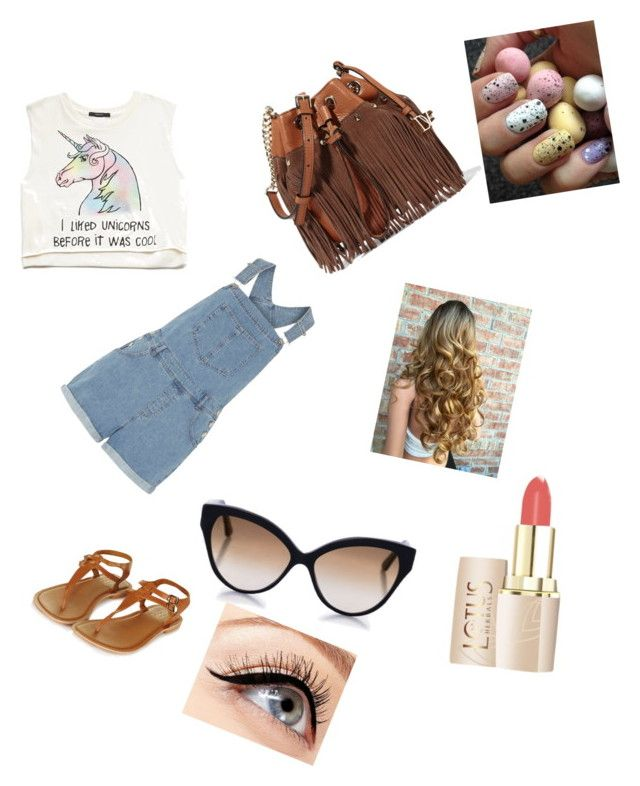 """""""summer"""" by crokerl ❤ liked on Polyvore featuring Forever 21, Dorothy Perkins, Topshop, Diane Von Furstenberg, Cutler and Gross and Luminess Air"""