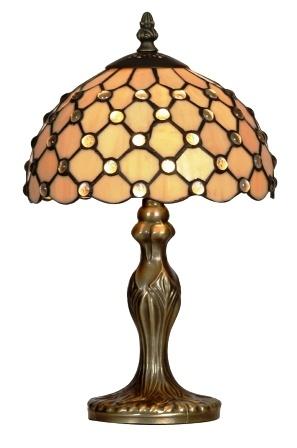 Tiffany Lamp. Reminds me a bit of a honeycomb.