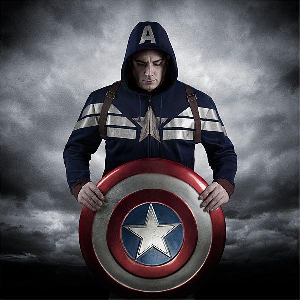 Exclusive Premium Captain America Hoodie Additional Image