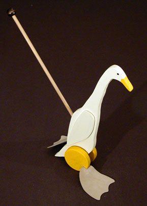 Runner Duck Push Toy