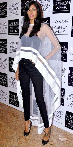 Anamika Khanna cape - like a super hero!